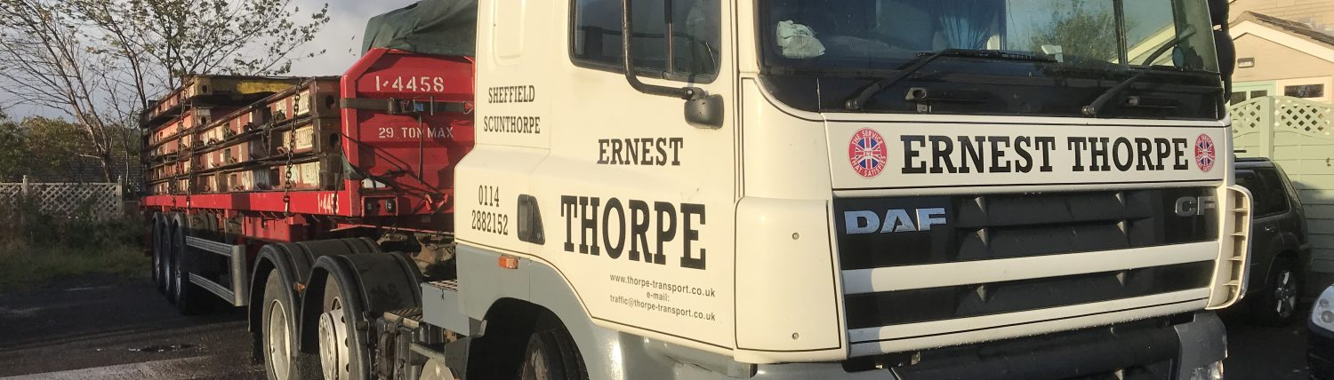 Ernest Thorpe Transport Ltd